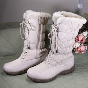 Totes Womens Snow Boots  Size 10W